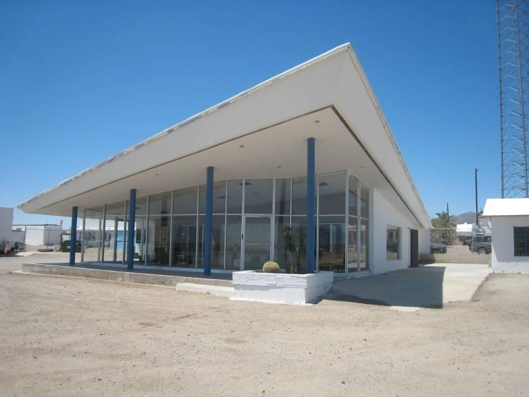 Abandoned desert modernism- Amboy, CA