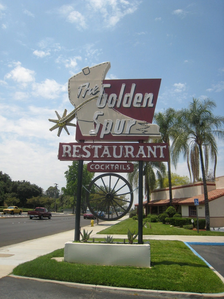Glendora, CA- The diners gone, but the sign remains.