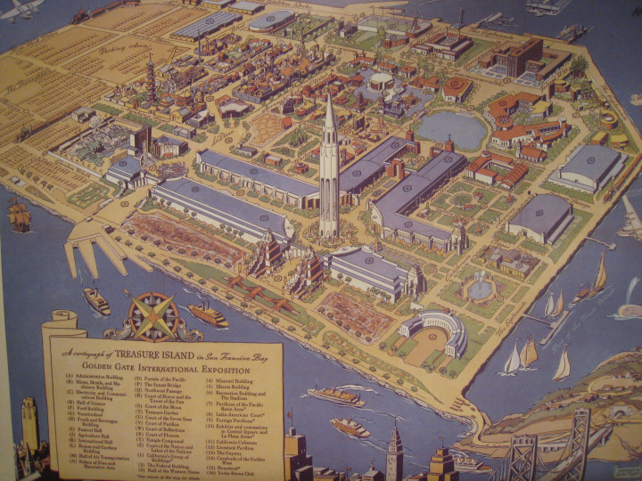 The World's Fair- buildings to lower right still exist