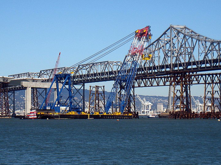 The new east span of Bay Bridge- coming soon?