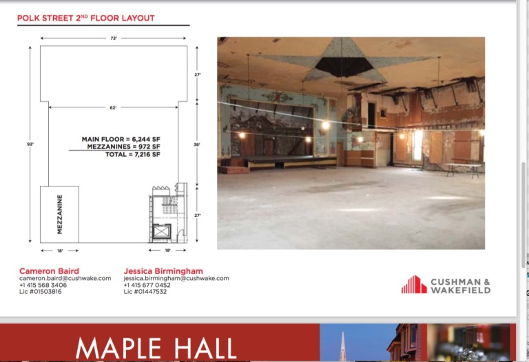 Maple Hall offering