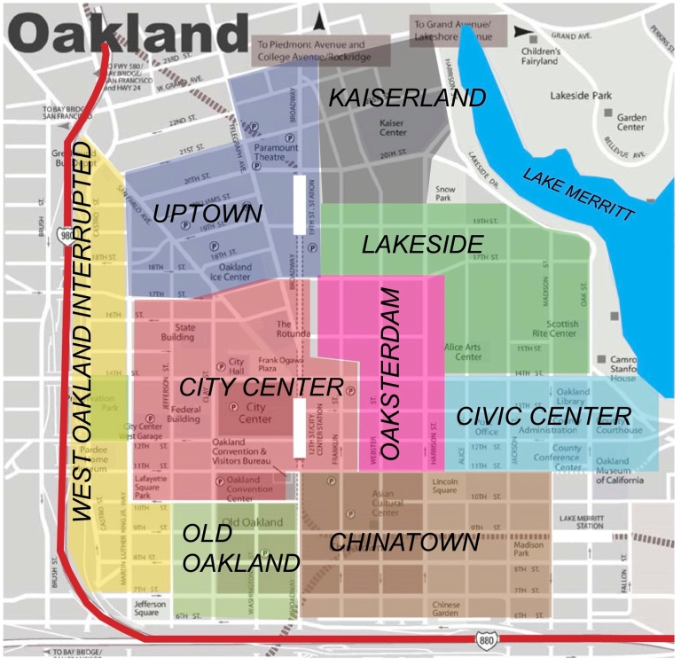 OAKLAND Map new 1